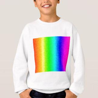 Gekritzelter Regenbogen Sweatshirt