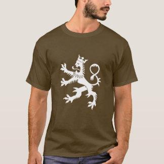 Gekrönter Löwe-zügelloser T - Shirt
