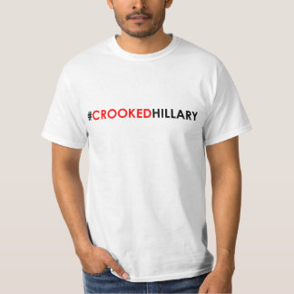 Gekrümmtes Hillary-T - Shirt #CROOKEDHILLARY