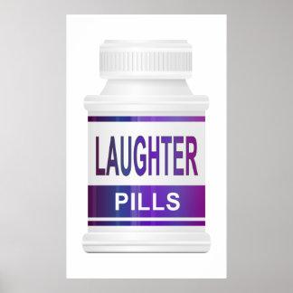 Gelächterpillen Poster