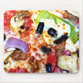 Geladene Pizza Mousepad