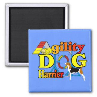 Geländeläufer-Agility-Geschenke Quadratischer Magnet