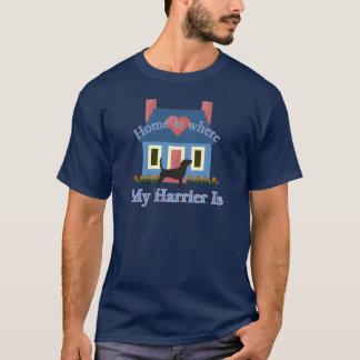 Geländeläufer-Zuhause ist T-Shirt