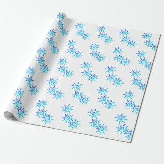 Gelassen ihm schneien! Feiertags-Packpapier Geschenkpapier