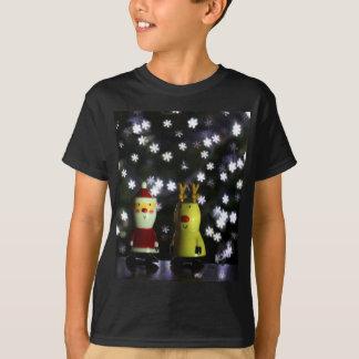 Gelassen ihm schneien! Frohe Feiertage mit Sankt T-Shirt