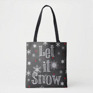 Gelassen ihm schneien Imitat-Tafel-Taschen-Tasche Tasche
