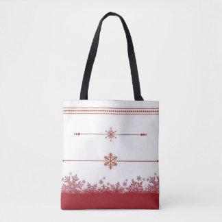 Gelassen ihm schneien razzle rote Taschentasche Tasche