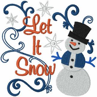 Gelassen ihm schneien Snowman Jacken