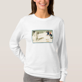 Gelassen ihm schneien T - Shirt