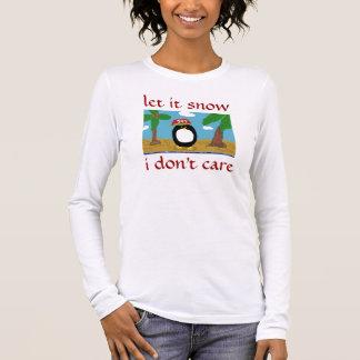 GELASSEN IHM, ZU SCHNEIEN INTERESSIERE mich ICH Langarm T-Shirt