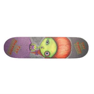 Gelassen ihnen essen Sie GehirneSkateboard Personalisiertes Skateboarddeck