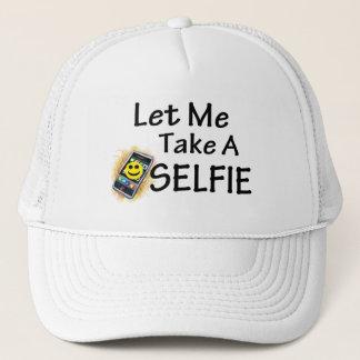 Gelassen mir nehmen Sie ein Selfie Truckerkappe
