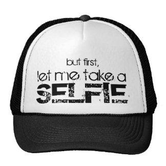 Gelassen mir nehmen Sie einen Selfie Hut Netzkappen