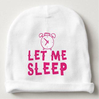 gelassen mir schlafen Rosa mit Wecker Babymütze
