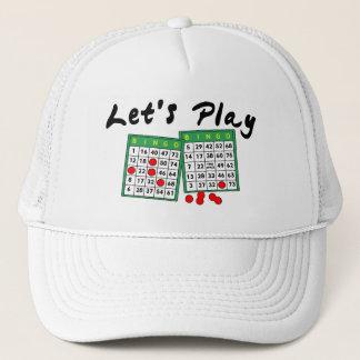 Gelassen uns Bingo spielen Truckerkappe