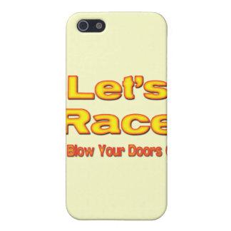 Gelassen uns, brenne mich zu laufen Ihre Türen weg iPhone 5 Schutzhüllen
