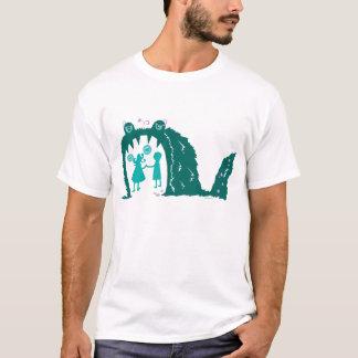 Gelassen uns erhalten Sie herein T-Shirt