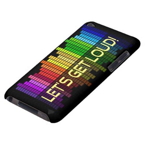 Gelassen uns erhalten Sie laute Entzerrerart iPod Touch Etuis