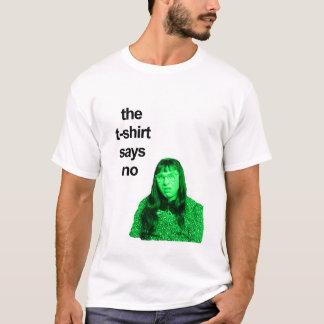 gelassen uns fragen Sie den T - Shirt