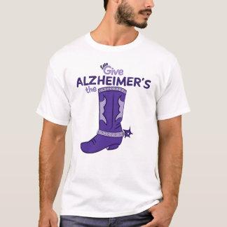 Gelassen uns geben Sie Alzheimer das Shirt
