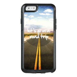 Gelassen uns gehen Sie auf eine Straßenreise OtterBox iPhone 6/6s Hülle