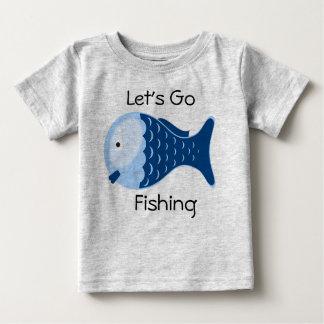 Gelassen uns gehen Sie, Bio Baby-Einteiler-T-Stück Baby T-shirt