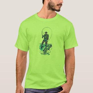 Gelassen uns gehen Sie, T - Shirt zu fischen