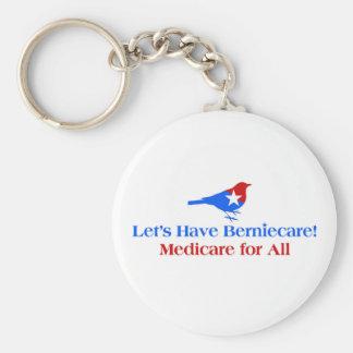Gelassen uns haben Sie Berniecare - Medicare für Schlüsselanhänger