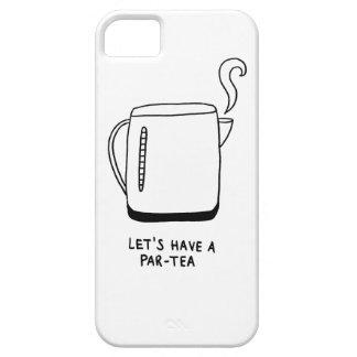 Gelassen uns haben Sie einen Gleichheit-Tee Etui Fürs iPhone 5