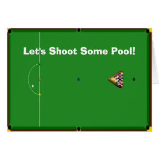 Gelassen uns irgendein Pool schießen! UAWG lädt Karte