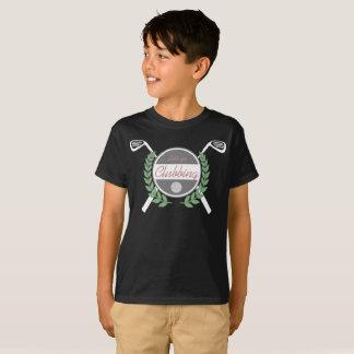 Gelassen uns mit einer Keule schlagend T-Shirt