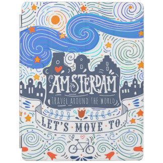 Gelassen uns nach Amsterdam übersiedeln iPad Smart Cover