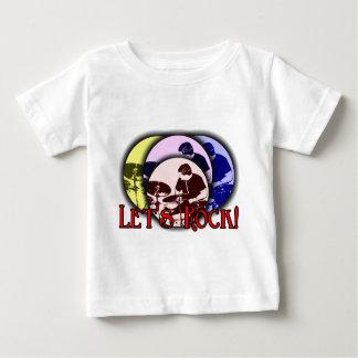 Gelassen uns schaukeln baby t-shirt