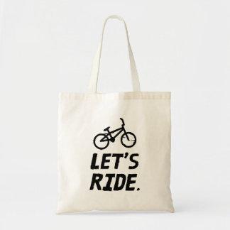 Gelassen uns Stadt-und Gebirgsradfahrer-Spaß Tragetasche