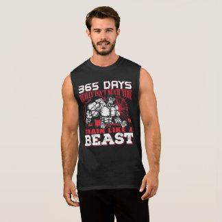 Gelassen uns wie ein Tier-T - Shirt ausbilden