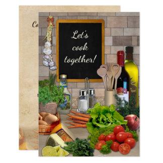 Gelassen uns zusammen kochen! karte