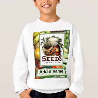 """Gelassenes """" s wachsen Gemüse Sweatshirt"""