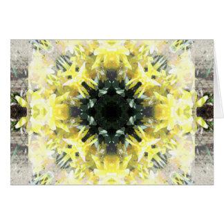 Gelb auf Gelb Karte