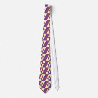 Gelb-aufgeteilte ergänzende Dreiecke Individuelle Krawatten