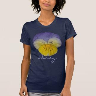 Gelb-Blau des Pansy-2a T-Shirt