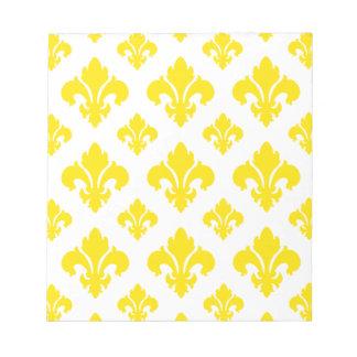 Gelb der Lilien-2 Notiz Blöcke