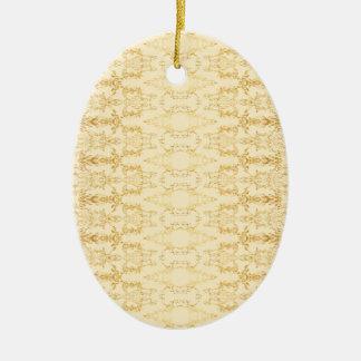 gelb keramik ornament