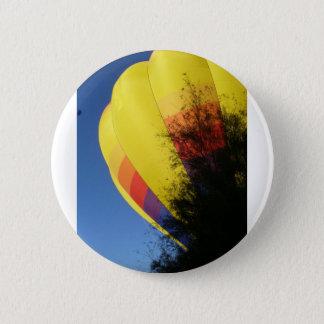 Gelb mit Haube Runder Button 5,1 Cm