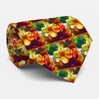 Gelb-orangee Narzissen 02.2.2o Krawatte