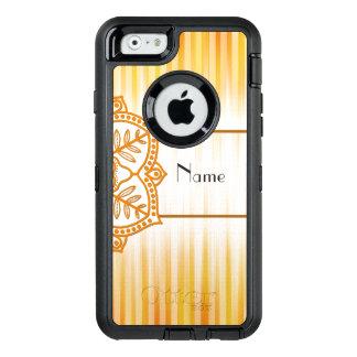 Gelbe abstrakte Blume OtterBox iPhone 6/6s Hülle