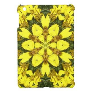 gelbe abstrakte Entwurfsmit blumengänseblümchen Hüllen Für iPad Mini