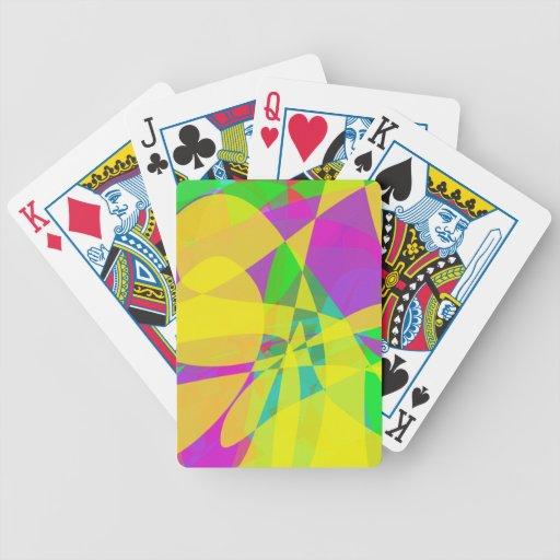 Gelbe Blume Spielkarten