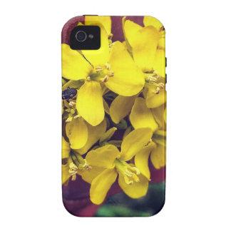 Gelbe Blumen iPhone 4 Cover