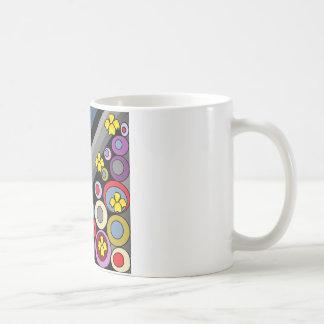 Gelbe Blumen Kaffeetasse