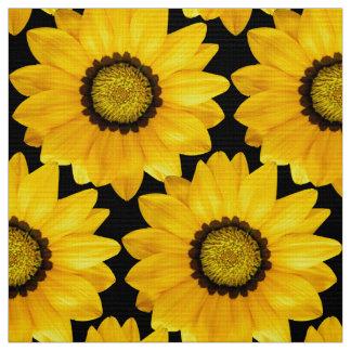 gelbe Blumen Stoff